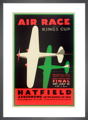 Air Race for the King's Cup, 1934 by Royal Aeronautical Society