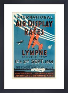 International Air Display and Races, 1934 by Royal Aeronautical Society
