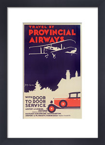 Provincial Airways, 1930s by Royal Aeronautical Society