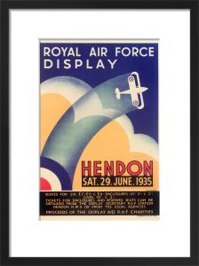 Royal Air Force Display, Hendon, 1935 by Royal Aeronautical Society