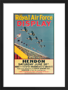 Royal Air Force Display, Hendon, 1928 by Royal Aeronautical Society