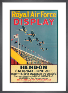 Royal Air Force Display, Hendon, 1928 by Royal Aeronautical Society