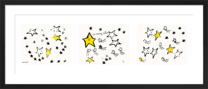 So Many Stars, c.1958 (triptych) by Andy Warhol