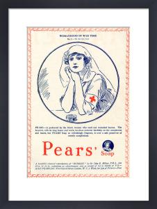 The Red Cross Nurse, 1917 by George Horace Davis