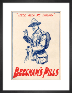 Beecham's Pills, 1917 by Anonymous