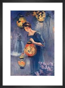 Paper Lanterns, 1918 by John Sutcliffe