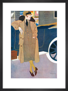 Woman in Uniform, 1919 by Reginald Higgins