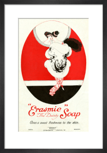 Erasmic Soap, 1918 by Annie Fish
