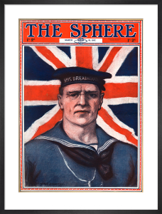 Sailor from HMS Dreadnought, 1917 by W A Cuthbertson