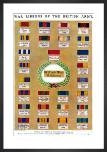 British Medal Ribbons, from 1850 by Anonymous