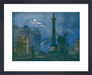 Trafalgar Square, 1918 by William Monk