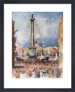 Trafalgar Square, July 1919 by William Monk