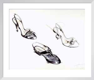 Shoes - Air Kiss Collection by Anne Zielinski-Old