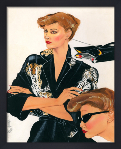 Limo Babes 1979 - Air Kiss Collection by Anne Zielinski-Old