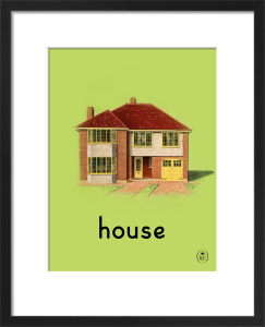 house by Ladybird Books'