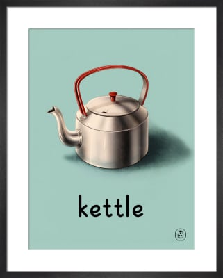 kettle by Ladybird Books'