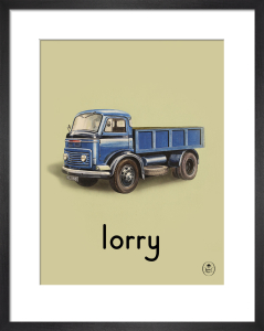 lorry by Ladybird Books'