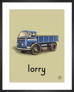 lorry by Ladybird Books'