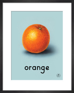orange by Ladybird Books'