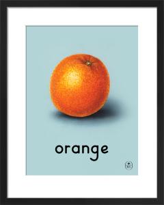 orange by Ladybird Books'