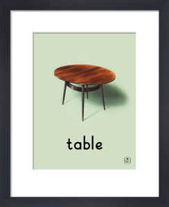 table by Ladybird Books'