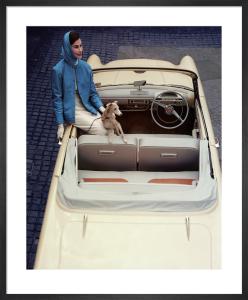 Vogue July 1957 by Eugene Vernier