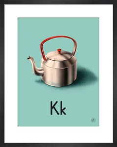 K is for kettle by Ladybird Books'