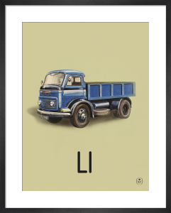 L is for lorry by Ladybird Books'