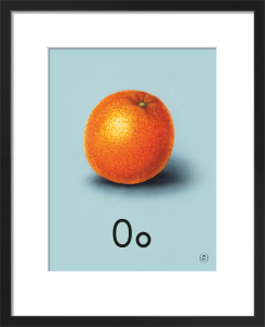 O is for orange by Ladybird Books'