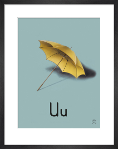 U is for umbrella by Ladybird Books'
