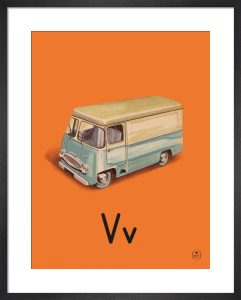 V is for van by Ladybird Books'
