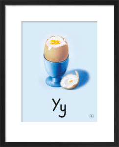 Y is for yolk by Ladybird Books'