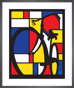 Mondrian Bike by Sassan Filsoof
