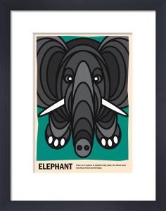 Elephant by Simon C Page