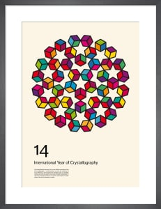 International Year of Crystallography 2014 #1 White by Simon C Page