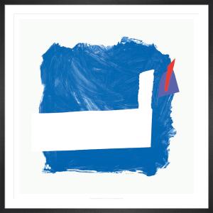 Side Effect (Blue) 1991-92 by Sandra Blow RA