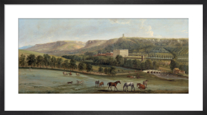 A view of Chatsworth from the south-west by Peter Tillemans