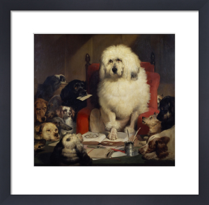 Trial by Jury, or Laying down the Law by Sir Edwin Henry Landseer