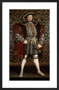 Portrait of King Henry VIII, after 1557 by Hans Holbein The Younger
