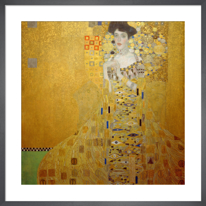 Portrait of Adele Bloch-Bauer I,1907 by Gustav Klimt