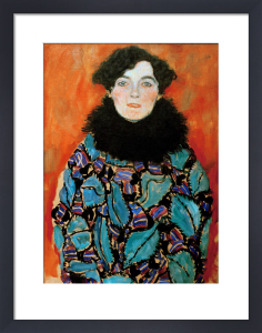 Portrait of Johanna Staude, 1917-18 by Gustav Klimt