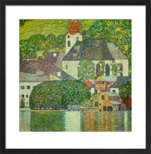 Church in Unterach on the Attersee, 1916 by Gustav Klimt