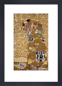 Fulfilment, 1905-09 by Gustav Klimt