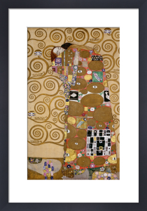 Fulfillment, 1905-09 by Gustav Klimt
