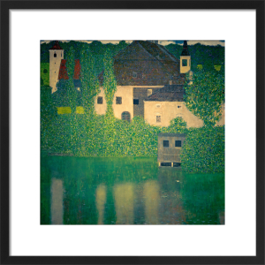 Schloss Kammer on the Attersee I, 1908 by Gustav Klimt