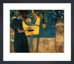 The Music, 1895 by Gustav Klimt