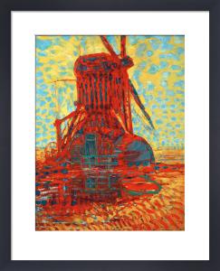Sunlit Mill, 1908 by Piet Mondrian