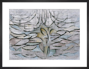Blossoming Apple Tree, 1912 by Piet Mondrian