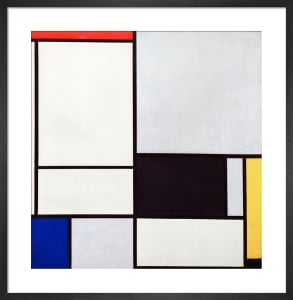 Composition No.2, 1921 by Piet Mondrian