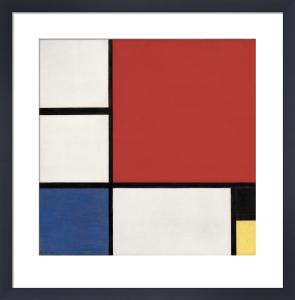 Composition II, 1929 by Piet Mondrian